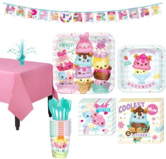 Num Noms Tableware Party Kit for 8 Guests