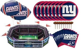 Sunny Anderson's Infladium: New York Giants Snack Stadium Kit