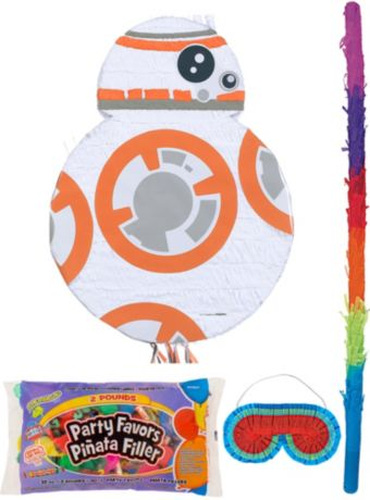BB-8 Pinata Kit with Candy & Favors - Star Wars 7 The Force Awakens