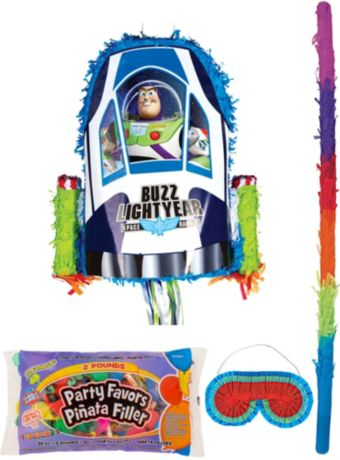 Buzz Lightyear Pinata Kit with Candy & Favors - Toy Story
