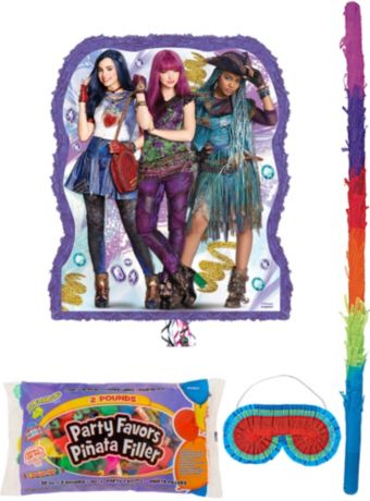 Descendants 2 Pinata Kit with Candy & Favors