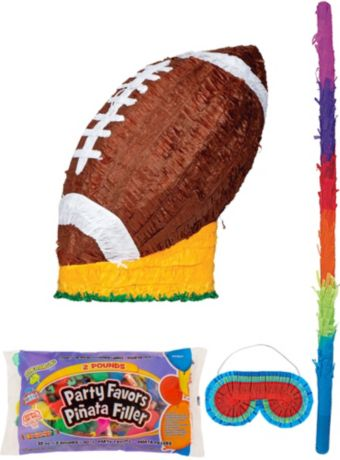 Football Pinata Kit with Candy & Favors