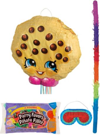 Kooky Cookie Pinata Kit with Candy & Favors - Shopkins
