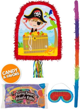 Little Pirate Pinata Kit with Candy & Favors
