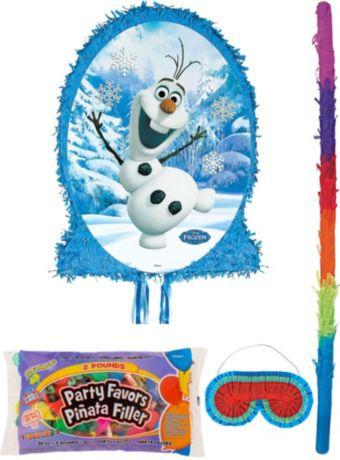 Olaf Pinata Kit with Candy & Favors - Frozen