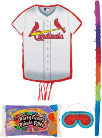 St. Louis Cardinals Pinata Kit with Candy & Favors