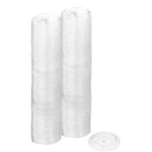 Small CLEAR Plastic Portion Cup Lids 200ct