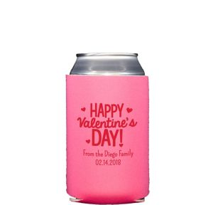 Personalized Valentine's Day Collapsible Can Coozies