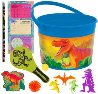 Prehistoric Dinosaurs Ultimate Favor Kit for 8 Guests