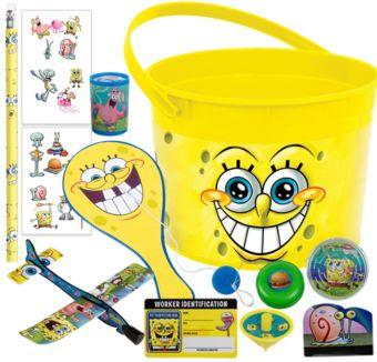 SpongeBob Ultimate Favor Kit for 8 Guests