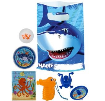 Shark Basic Favor Kit for 8 Guests