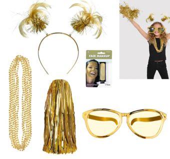 Gold Deluxe Fan Kit