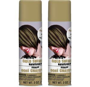 Gold Hair Spray 2ct