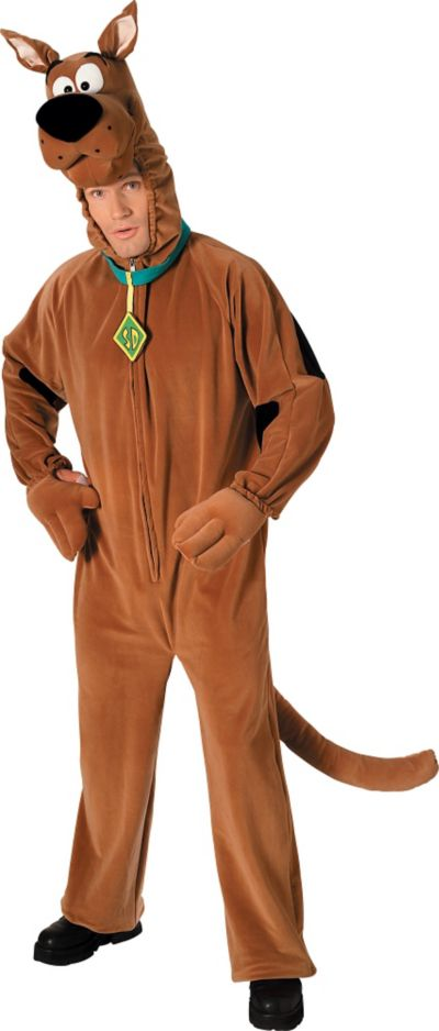Adult Scooby-Doo Costume Deluxe