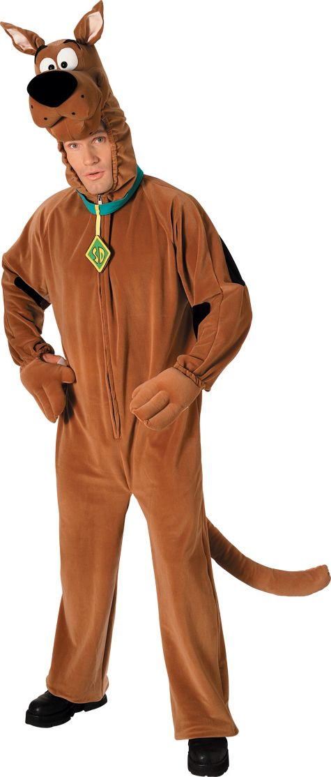 Animals Costumes Adults Adult Scooby-doo Costume