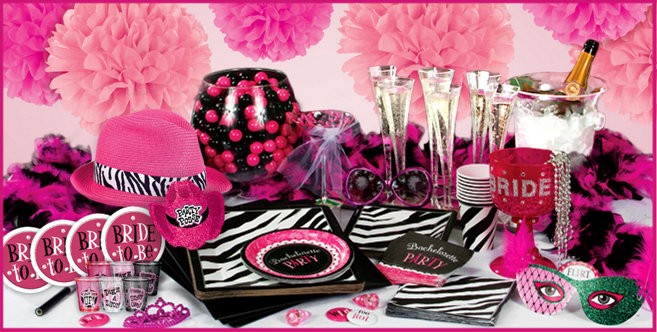 Bachelorette party supplies celebrate the bride to be for Bachelor party decoration