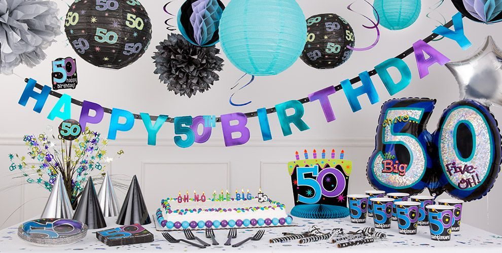 The party continues 50th birthday party supplies party city for 50th birthday party decoration