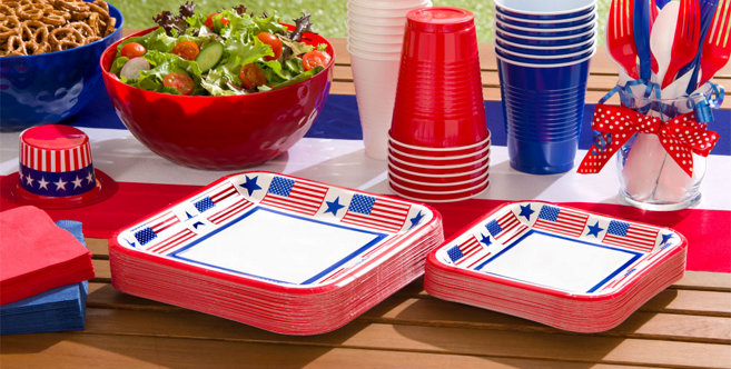Patriotic Big Party Packs #1