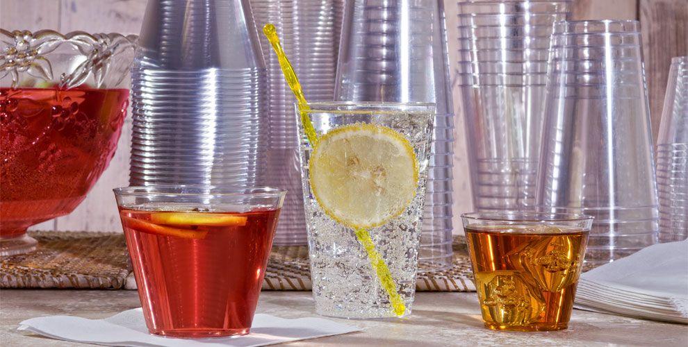 Plastic Cups & Stemware #2