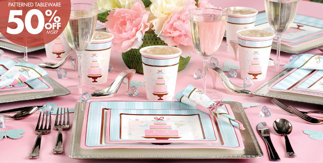 Pink Wedding Supplies #1
