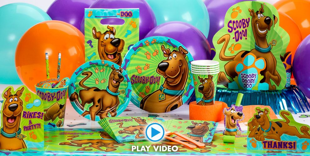 Scooby-Doo Party Supplies #1