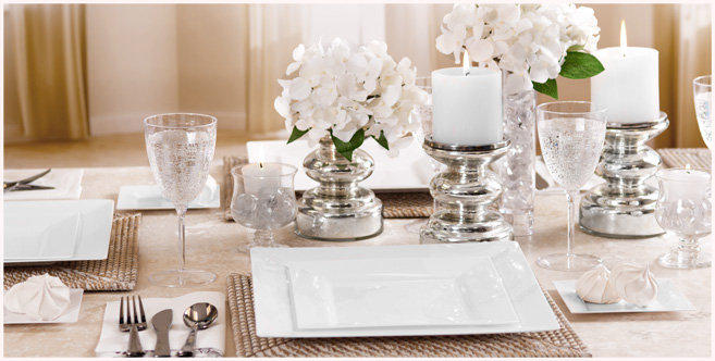 solid white tableware #2