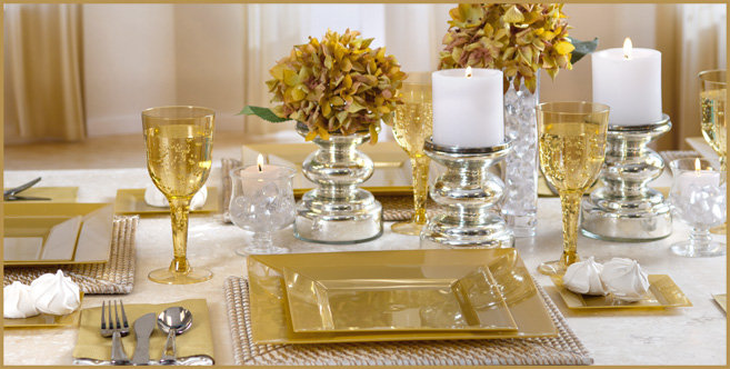 solid gold tableware #2