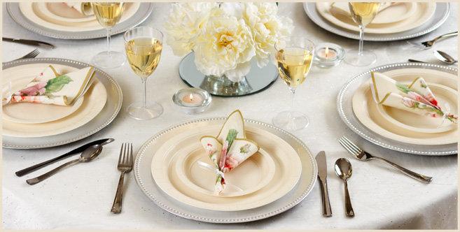 solid vanilla tableware #2