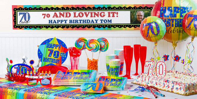 70th birthday party table decorations quotes for 70th birthday party decoration