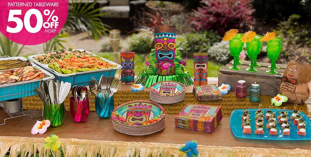 Tropical Tiki Party Supplies City