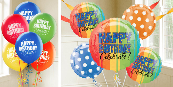 Year to Celebrate Birthday Balloons - Party City