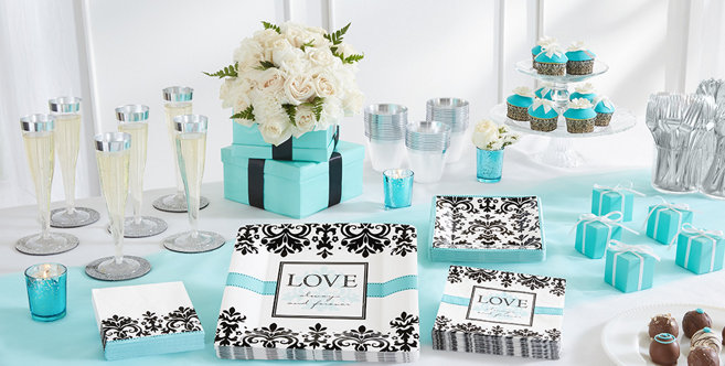 Robins Egg Blue Wedding Supplies #1