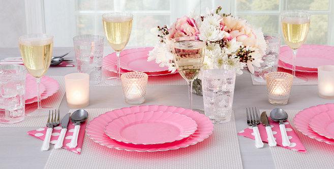 Solid Pink Tableware #2