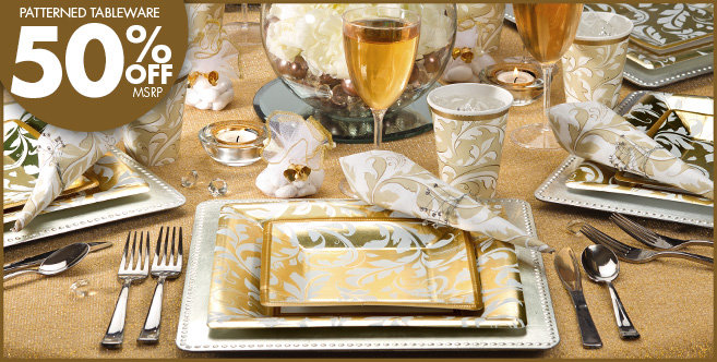 Gold Wedding Supplies #1