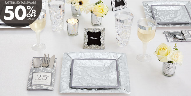 Silver Wedding Supplies #1