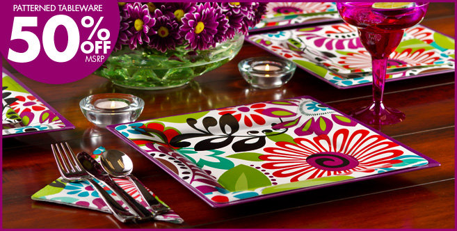 Modern Floral Party Supplies - Party City