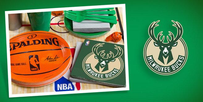 Nba Milwaukee Bucks Party Supplies Party City
