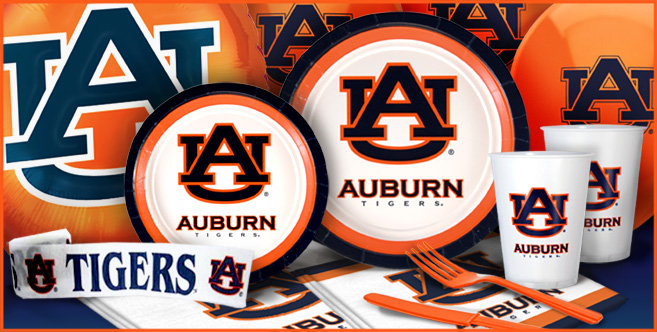 Auburn Tigers Party Supplies Party City