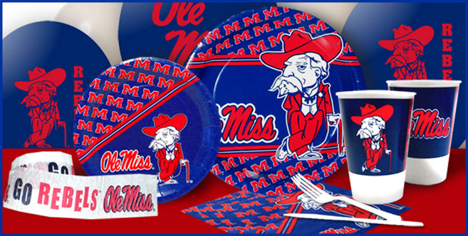 Ole Miss Rebels Party Supplies Party City