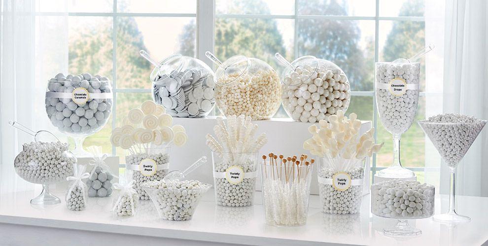 White Candy Buffet