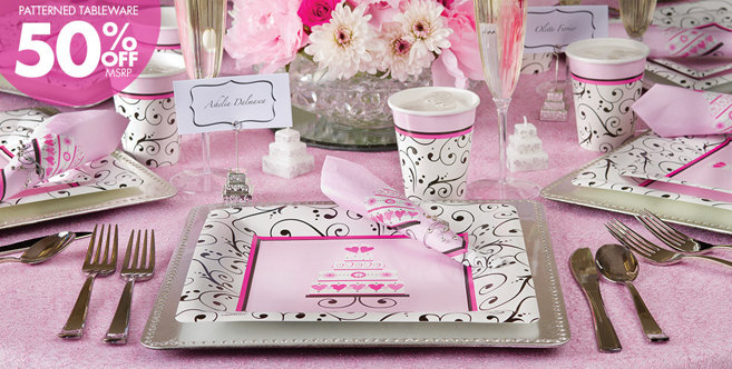 Bright Pink Wedding Supplies #1