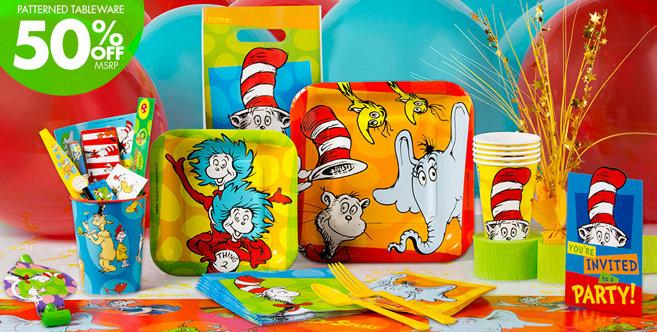 Dr. Seuss Party Supplies #2