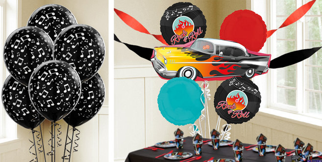 rock n roll balloons party city canada. Black Bedroom Furniture Sets. Home Design Ideas