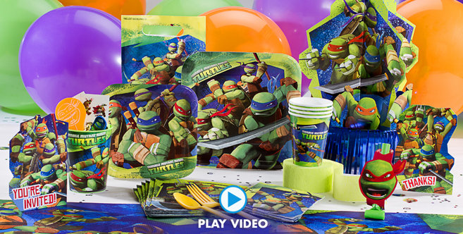 Teenage Mutant Ninja Turtles Party Supplies #1
