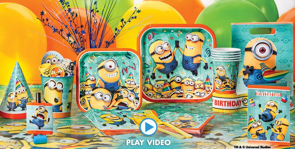 Despicable Me Party Supplies #1