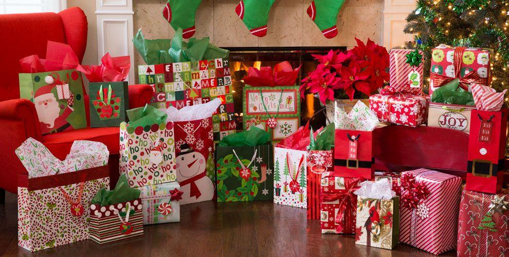 Christmas Gift Bags & Wrap #2