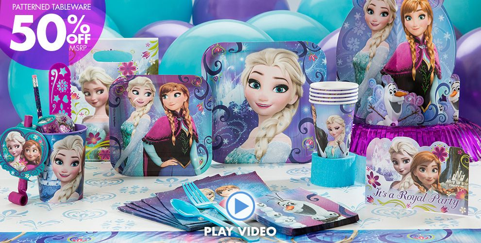 Frozen Party Supplies #1