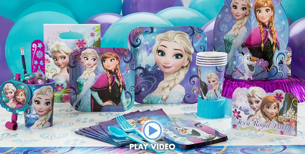 Click Here For Frozen Party Ideas