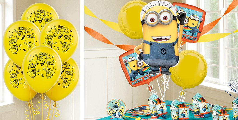 Despicable Me Balloons Party City