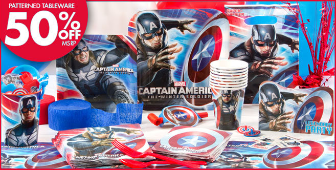 Captain America Party Supplies #1
